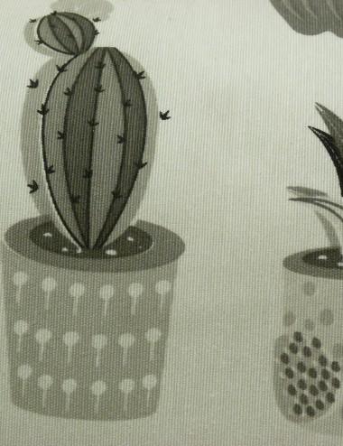 Cojín Cactus en maceteros